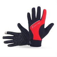 batting gloves xl - 2016 Real New Motocycle Guantes Motorcycle Luva Bat Fox Winter Touchscreen Gloves Bike Riding Fleece Long Finger Unisex Models