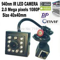 Wholesale 2 Megapixel MINI IR Camera nm Ir Leds Niision P suport Onvif MINI IR Ip Camera P2P Ip Cameraght IR CUT CCTV support Mobile