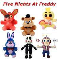 as pc Plush Unisex Five Nights At Freddy's 4 FNAF Freddy Foxy stuffed animals Fox Toys Doll for baby kids christmas dolls