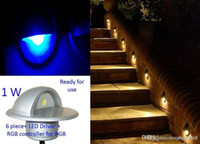 Wholesale Mini LED Porch Lamp Half Moon Shaped Indoor Outdoor Decoration Lighting for Deck Garden Steps Stairs Patio Paver light