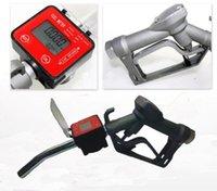 Wholesale Fuel Gasoline Diesel Petrol Oil Delivery Gun Nozzle Elliptic Gear Flow Meter
