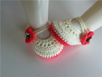 bell fashion shoes - Fashion Baby crochet shoes baby girls booties infant bell Newborn Shoes Toddler Shoes baby booties M customize
