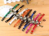 Wholesale DHL Multi Charms Bracelet Watch Fashion Women Lady Quartz Crystal Watch Wristwatches DIY
