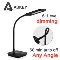 auto light switch timer - Aglaia Dimmable Eye care LED Desk Lamp Reading Light with Flexible Neck W Level Dimmer Hour Auto Timer Touch Sensitive