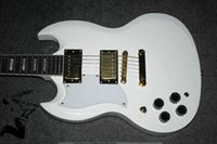 left hand - Custom Left Handed Guitar S G frets Electric Guitar white China guitar New Style