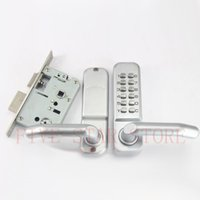 interior door handles - hotsale handle lockset mechanical code lock with deadbolt mortise and key for interior door security