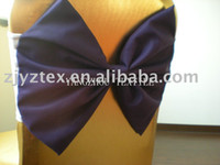 Wholesale spandex band with tie for chair covers spandex band