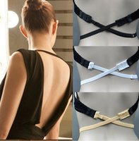 backless bra converter - 3 a set Low Back Backless Adapter Converter Bra Strap Fully Adjustable Backless Extender low back bra strap LJJD2391