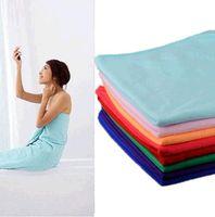 Wholesale x55inch Absorbent Microfiber Drying Bath Beach Towel Washcloth Swimwear Bath towel pieces