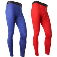 Wholesale Men s Compression Athletic Pants Running Training Base Layers Skin Sports Tights