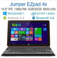 WCDMA tablet computers - Jumper EZpad s Tablet PC Dual Boot Windows Android quot Inch Tablets Intel Z3735F bit IPS HD screen GB GB Computer Laptop