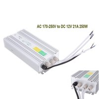 Wholesale 21A W AC170 V to DC12V Steady And Precise Output Voltage Transformer Switch Power Supply for Led Strip Lighting
