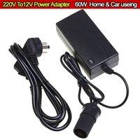 Wholesale V To V W Automotive Household Car Charger Cigarette Lighter InverterPower Adapter Converter