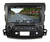 car dvd player gps and bluetooth - Car DVD player for MITSUBISHI OUTLANDER with quot LCD TFT touch screen and Built in GPS Bluetooth FM transmitter