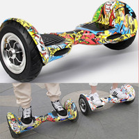 Wholesale Smart balance wheel christmas gift led lights inch hoverboard electric board bluetooth speakers self balancing new products scooter vg008