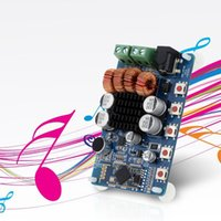Wholesale 2016 New Arrival TPA3116 Bluetooth Two channel Stereo Audio Receiver Power Amplifier Board Module W