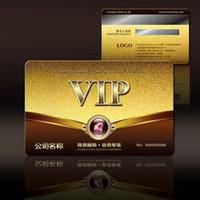 Wholesale 2500PCS Customize PVC Card VIP Plastic cards Membership Cards