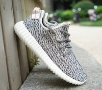 Cheap 2016 Mens Women Shoes Kanye West Yeezy Boost 350 Oxford Tan Milan Shoes Yeezy Boots 350 Moonrock Turtle Dove Gray Pirate Black Yeezy