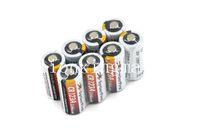 Wholesale SKU1347 CR123A V mAh Lithium Battery