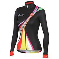 Wholesale Brand women winter thermal fleece Cycling clothing Mountain Bike jersey ropa ciclismo