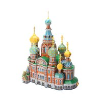 Wholesale CubicFun d puzzle Russia s resurrection cathedral bounty cathedral architecture educational model for kids birthday Chrismas