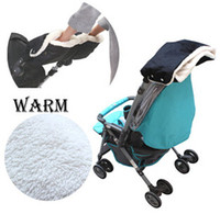 Wholesale 3Pcs Kids Baby Thicker Warmer Stroller Hand Gloves Muff for Winter Gift