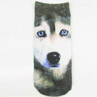 Wholesale HOT Sales D Print Cartoon Animal Creative Socks Women Men s Socks Meias Cute Ankle Socks Street style Sock Slippers YK0043