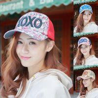 mesh snapback hats - Korean Women Sun Hat Adjustable Hip Hop Ball Caps Lady Summer Snapback Ball Letter Hat Baseball Sport Cotton Mesh Hollow Out Cap YWMLX52034