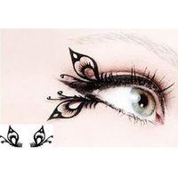 Wholesale pairs JZ04 Fan Fan with paper cut art of false eyelashes false eyelashes stage creative eye makeup large