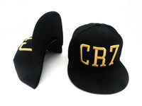 liquidation - 2015 Madrid CAPPELLO RARE GOLD CR7 CAP CRISTIANO RONALDO TEAM SPORT SNAPBACK Adjustable Baseball HAT Hats Gorra LIQUIDATION OFFER ball caps