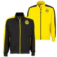 Wholesale Dortmund training suit to play football suit jacket