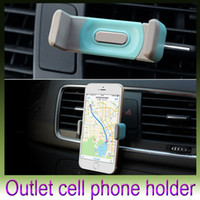 airs variety - Automobile air conditioning outlet cellular phone support Car navigator bracket Suitable for a variety of electronic products