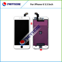 black inches - For iPhone inch Fast Shipping LCD Display with touch screen Full set Assembly White and black color