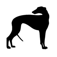 bumper boat - Car Stickers Greyhound Dog Decal Vinyl Sticker For Car Wheelie Bin Suv Truck Boat Window Bumper Home Wall