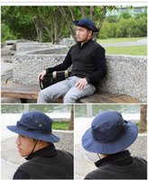 Wholesale Men s Tactical Outdoor Activties Wargame Fishing Camouflage Military Boonie Hat Net Cap