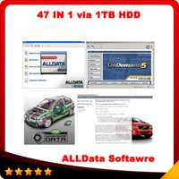 alldata automotive - 2015 Hot in1 alldata and mitchell software alldata mitchell on demand ATSG ETKA vivid ELSA med heavy truck tb hdd DHL Free