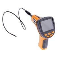 Wholesale IP67 Waterproof quot TFT LCD Digital Inspection Borescope Endoscope Snake mm Scope Camera LEDs order lt no track
