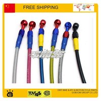 go cart - Colorful Hydraulic disc Brake Hose ATV quad buggy go cart Dirt Pit Bike aceessories order lt no track