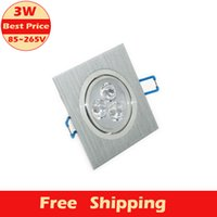 aluminium grille - high quality w grille LED Rectangle Aluminium downlight bulb V recessed ceiling panel light lamp with LED lamp Driver