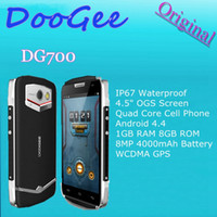 Wholesale Original Doogee DG700 TITANS2 quot OGS Screen Quad Core Cell Phone Android GB RAM GB ROM MP mAh Battery WCDMA GPS