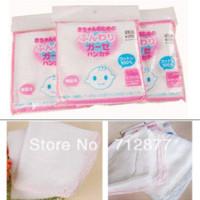 Wholesale Baby Infant Gauze Muslin Square Cotton Nursing Towel Bath Wash Cloths Bibs Towel towel bath