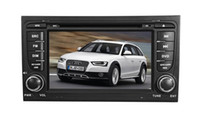 audi a4 - 7 quot LCD TFT touch screen two din special car DVD player for AUDI A4 with gps Car multimedia System DVD Player