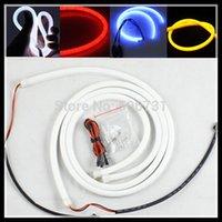headlight assembly - 2 cm Flexible Led Tube Strip DRL Lights LED Headlight Stripe LED Daytime Running Light Strip for AUDI for Mercedes