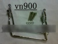Wholesale New Motorcycle Saddlebag Support Bar For Kawasaki Vulcan VN900 VN2000 set Carrier Systems Cheap Carrier Systems