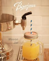 Wholesale Vintage mason jar Glass jars Cool Water bottle ml drinkware Zakka Mug cups Party supplies Novelty households