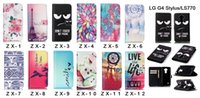 bell phone cards - Tower aeolian bells flower High Quality Fashion Flip PU Leather Wallet With Cards Slots Stand Phone Bags case For LG G4 Stylus Ls770