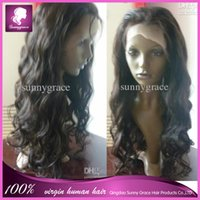 Natural Color indian remy curly full lace wigs - Indian Vigin Human hair Inch Curly Lace front wig b Indian full lace wig Indian woman hair wig unprocesssed Indian remy human hair