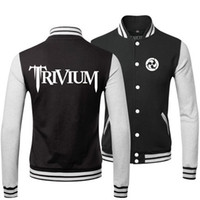 band trivium - heavy metal TRIVIUM BAND SPRING FALL WINTER Classic Jacket lover s Sweatshirt baseball uniform for MAN AND WOMAN