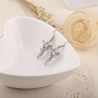 Wholesale 2pieces pair the Lord of The Rings Earrings elf princess Arwen Evenstar dangle earrings ear cuff for women statement jewelry