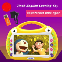 Wholesale Frog Video Story Teller Learning Machine Device Early Educational Toy Rechargeable